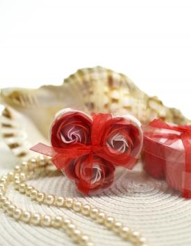 Soap flowers. Roses MGP13