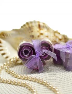 Soap flowers. Roses MGP17