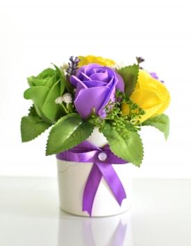 Soap flowers. Arrangement...