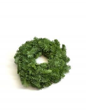 Wreath of fir branches...