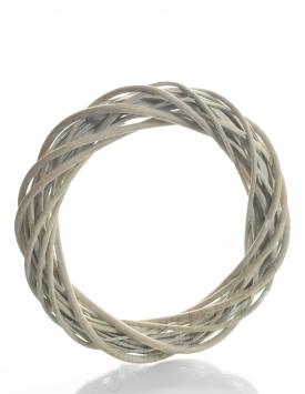 Wicker wreath ring 25cm. KV009